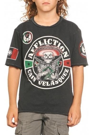 Camiseta Affliction Cain Velasquez Ufc 166 Para Niño