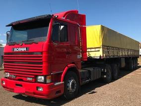 Scania 113 360 Truck Carreta Randon Graneleira 3 Eixos 1998