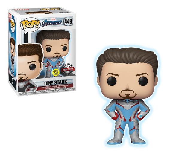 Funko Pop Marvel Avengers Endgame: Iron Man Tony Stark Glow
