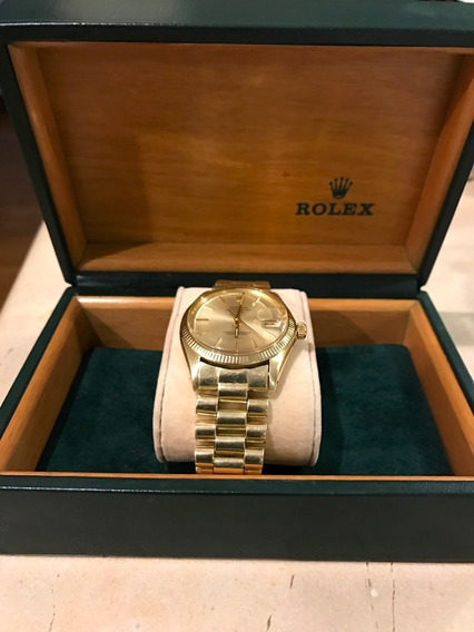 Reloj Rolex Original De Oro