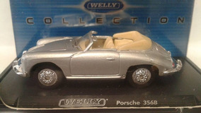 Miniatura Porche 356-b Welly Lacrado !!!