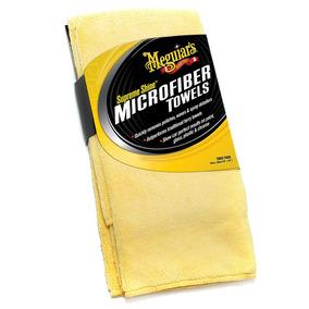 Toallas De Microfibra Supreme Shine X2020, Paquete De 3