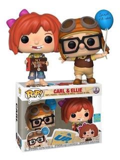 Funko Pop! Carl Ellie Up Disney Convention Exclusive