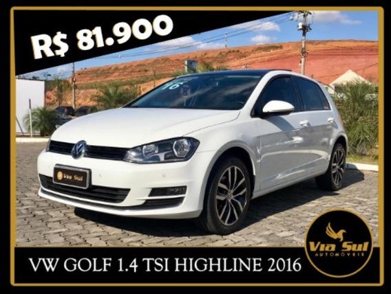 Vw - Volkswagen Golf 1.4 Tsi Highline Flex Aut.5p