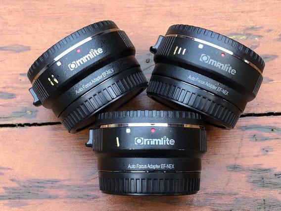 Adaptador Commlite Sony E-mount P/ Canon Ef/efs Usado