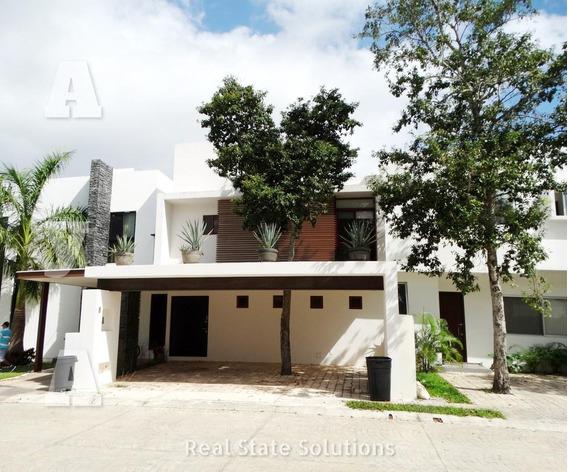 Casa En Venta/renta, 3 Recámanaras En Aqua By Cumbres, Av. Huayacán, Cancún