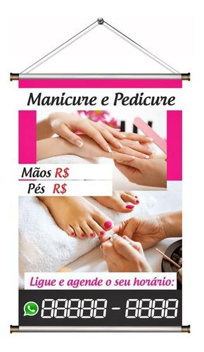 Banner Manicure E Pedicure