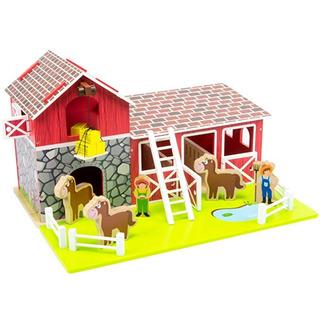 Saddle Up. Barn & Estable Barnyard Playset + Los Caballos Ma