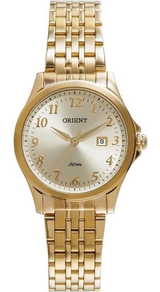 Relógio Orient Feminino Dourado Fgss1094 S2kx