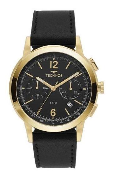 Relógio Pulseira Em Couro Technos - 6s21ac/0p