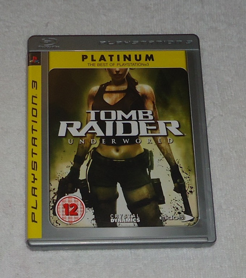 Tomb Raider Underworld Platinum Ps3 ** Frete Grátis Leia
