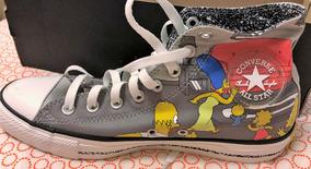 Tenis All Star Converse The Simpsons Edição Limitada Novo