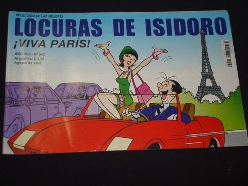 Locuras De Isidoro Nro 542 Agosto De  2009 Impecable