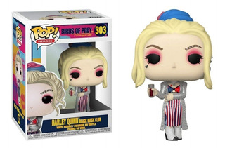 Funko Pop Harley Quinn #303 Black Mask Club Dc Regalosleon