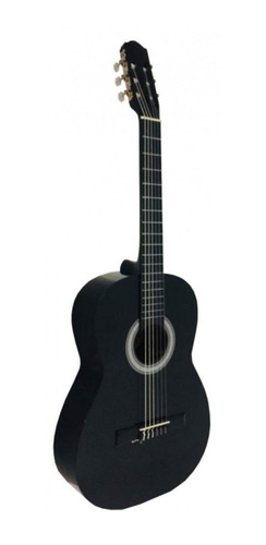 Guitarra clásica Guitarras Valdez 1A negra