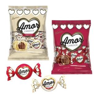 Combo Regalo X2 Paquetes De Chocolates Amor Carioca X 1000gr