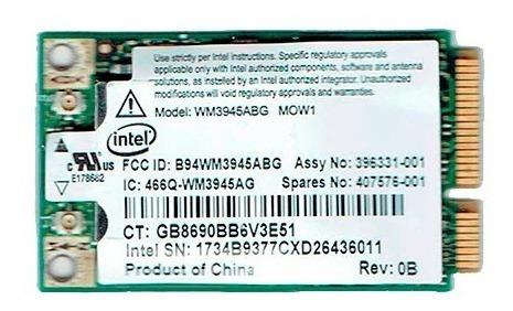 Placa Wifi Mini Pci-e Intel Wm3945abg Mow1
