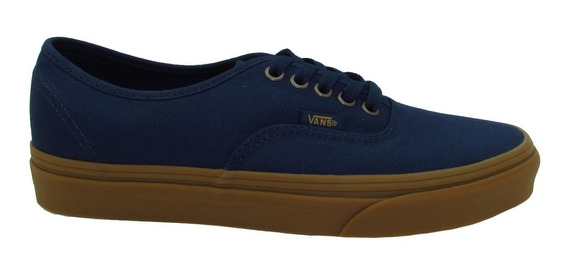 Tenis Vans Unisex Azul Authentic Light Gum Dress Vn0a38emony