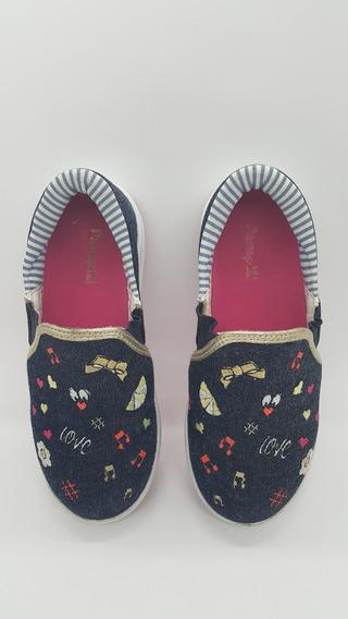 Tênis Sneaker Infantil Menina Semi Novo Pampili N° 29