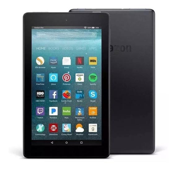 Tablet Amazon Fire 7 8gb With Alexa Câm 2mp/vga Wifi Fire Os