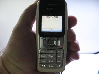 Celular Nokia 2310 Rm-189 Funcionando Não Acompanha Bateria
