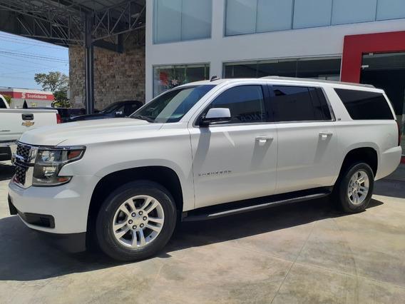 Chevrolet Suburban 5.4 Ls Tela 2a Fila At 2016 Blanco