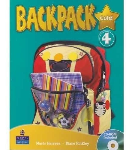 Libro De Ingles Backpack 4 (blanco Y Negro )