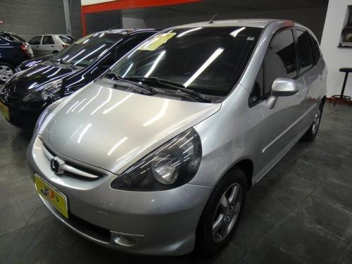 Honda Fit Lx 1.4 Flex 5p Mec Completo Rodas 2008 Prata