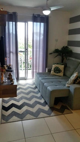 Apartamento Em Piratininga, Niterói/rj De 60m² 2 Quartos À Venda Por R$ 250.000,00 - Ap349821