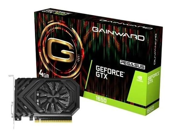 Placa De Video Gtx1650 4gb Pegasus 128bits Gainward Nvidia