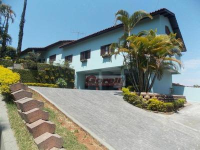 Casa Com 3 Dormitórios À Venda, 730 M² - Condomínio Arujazinho I, Ii E Iii - Arujá/sp - Ca0751