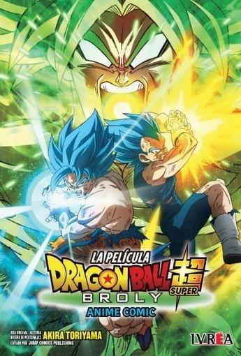 Dragon Ball Super: Broly - Anime Comic (tomo Unico) - Akira