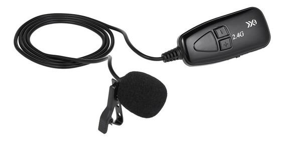 Microfone Sem Fio Xxd-g18l 2.4g Hands Free Clip-on Lapel