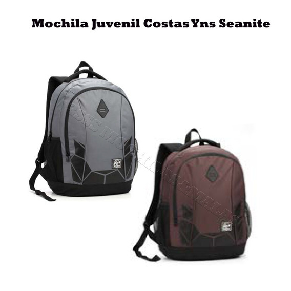 Mochila Seanite Neon Masc Juven Yins Original Mj13060