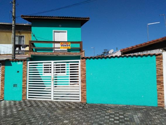 Sobrado C/ 3 Dormitórios Lado Praia Em Mongaguá - Ref 7770 E