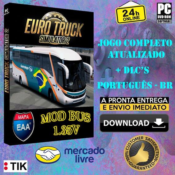 Euro Truck Simulator 2 Bus - Versão 1.36 + 65 Dlc- Português