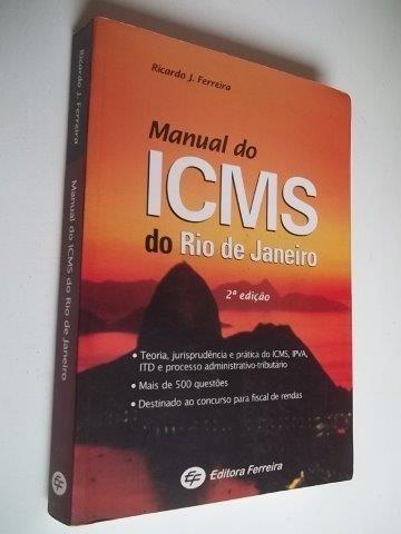 * Icms Do Rio De Janeiro - Livro