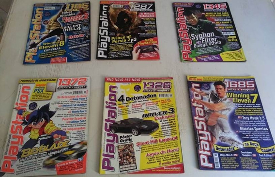 Revistas Playstation E Super Dicas Playstation - 12 Edições.