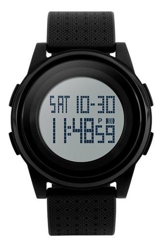 Relógio Digital Slim Pulseira De Silicone Skmei 1206 Unissex