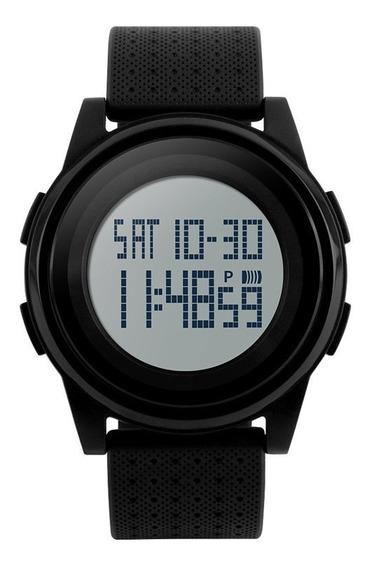 Relógio Digital Slim Pulseira De Silicone Skmei 1206