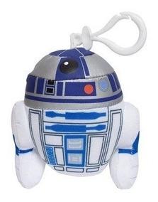 Chaveiro Pelúcia Star Wars Episódio Vii R2-d2 Dtc