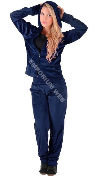 Conjunto Plush Veludo Feminino Adulto Menor Preço Atacado Revenda Calça + Blusa / Agasalho Com Capuz Tendência Inverno
