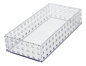 Caixa Modular Em Ps - 3,3l- Cristal