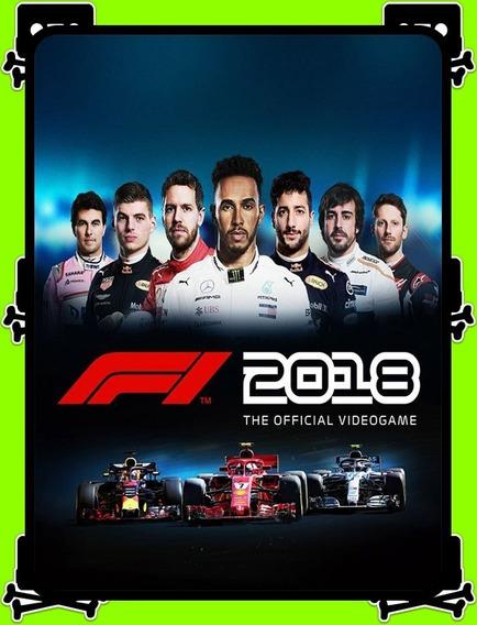 F1 2018 Pc - 100% Original (steam Key)
