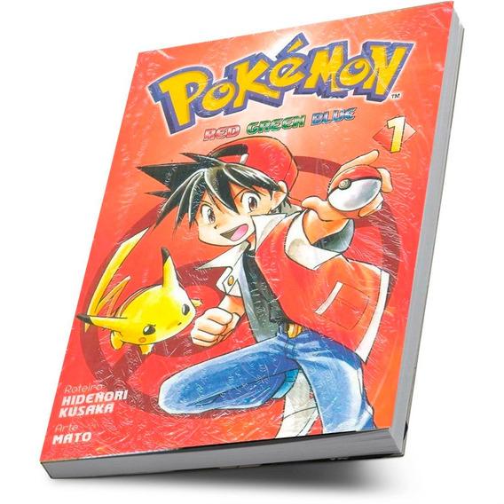 Mangá Pokémon Red Green Blue Hidenori Kusaka Volume 1
