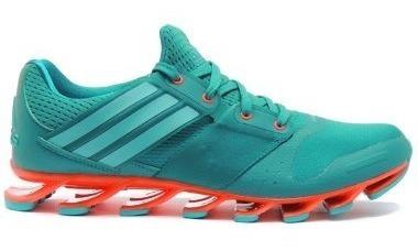 Tenis adidas Hombre Verde Springblade Solice Af6800