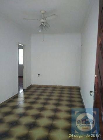 Apartamento Com 1 Dormitório À Venda, 55 M² Por R$ 160.000,00 - Parque Bitaru - São Vicente/sp - Ap5187