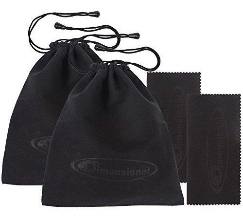 Imagen 1 de 7 de Bolsa De Almacenamiento Ed 3d Glasses Paquete Stealth Black