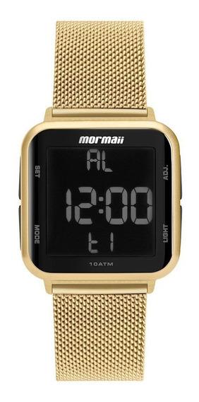 Relógio Mormaii Wave Dourado Unissex Mo6600ah/8d
