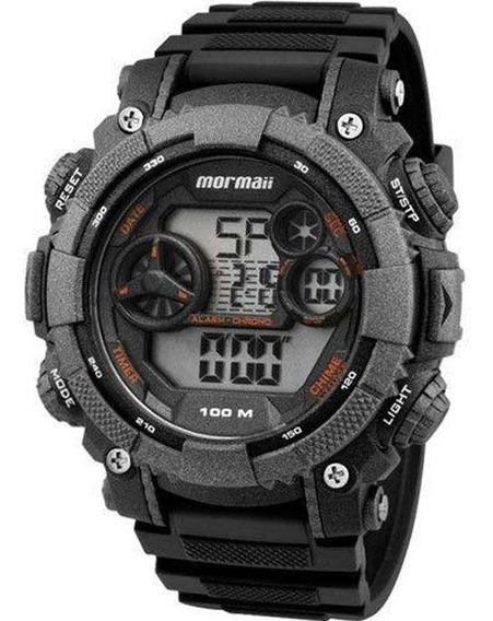 Relógio Mormaii Cinza Escuro Masculino
